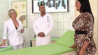 نيك امراة سمينة من دكتور امراض نساء سكس فى المستشفي أنبوب الإباحية ...